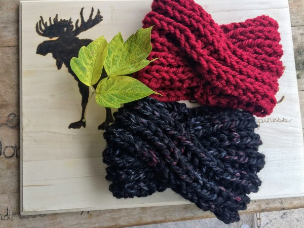 Twisted Knit Ear Warmer