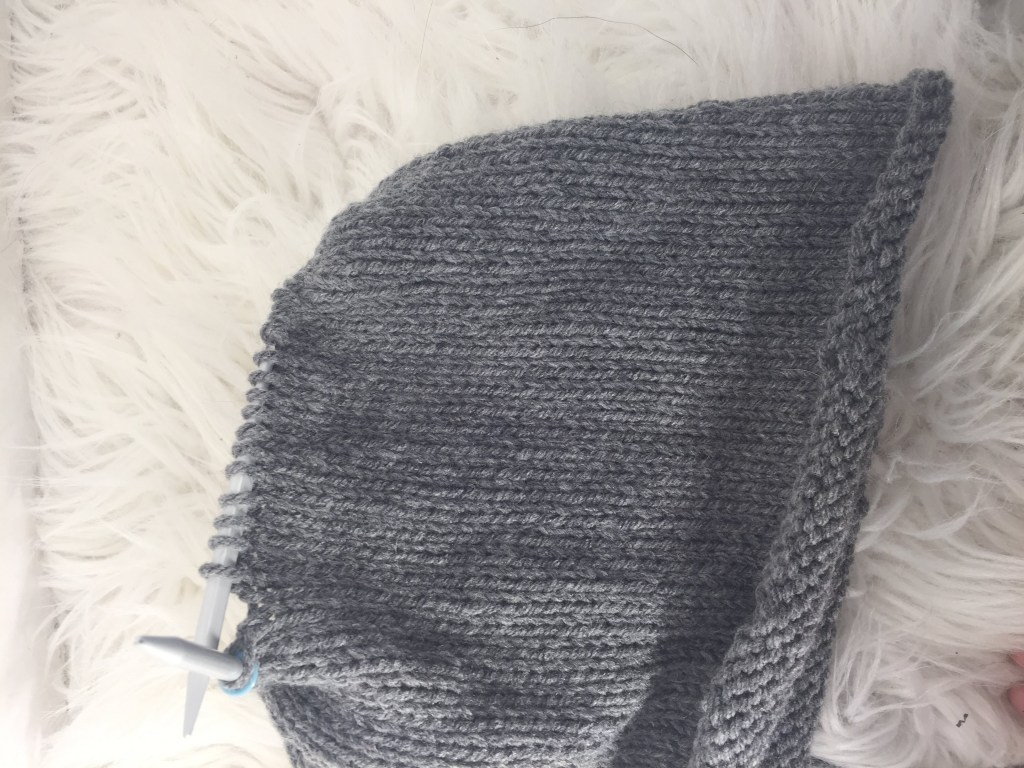 Double knit brim hat
