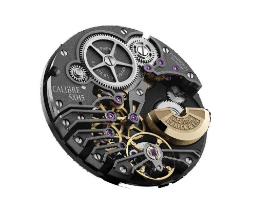 CZAPEK watch Movement_lacquered_LR-1