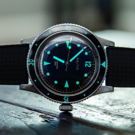 baltic watch lume