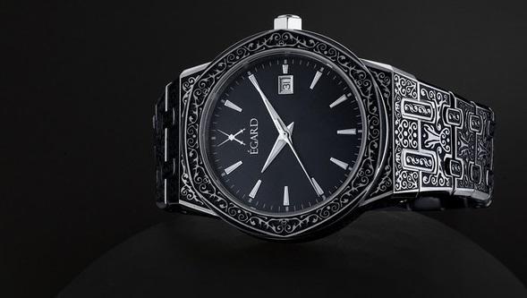 egard engraved watch