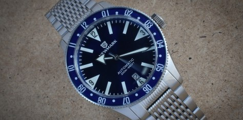 newmark71H blue dial Sports automatic watch