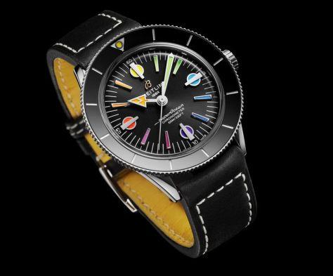 superocean heritage rainbow dial