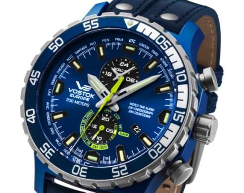 vostok expedition 2 blue
