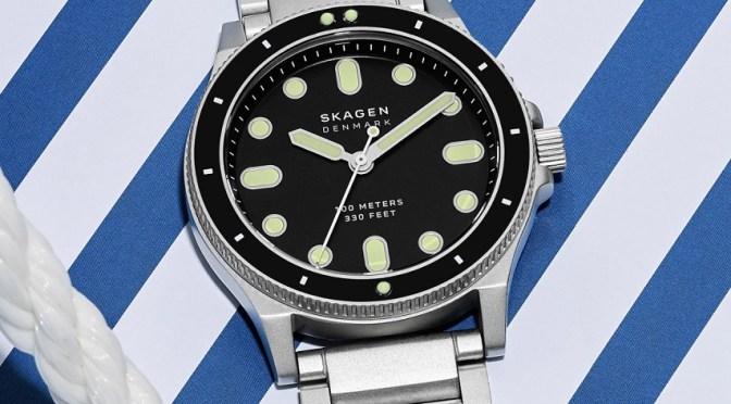 Skagen Fisk is A Good Value Budget Dive Watch