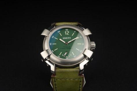 unity big bang green dial limited edition