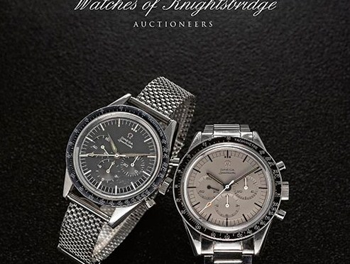 Auctions: Watches of Knightsbridge July 18th