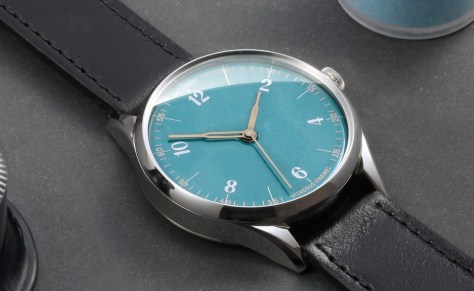 anordain enamel dialled watches made in UK