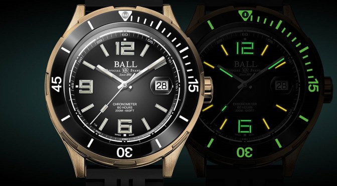New Ball Roadmaster Archangel: Tough Tool Watch With Superlume