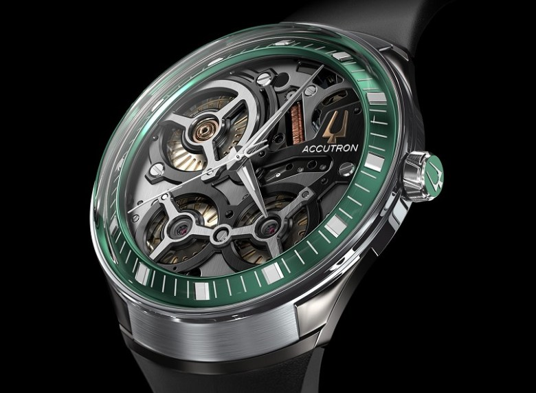 accutron DNA green