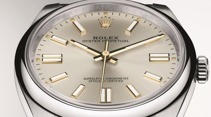 New 41mm Oyster Perpetual Is a Smart Move by Rolex
