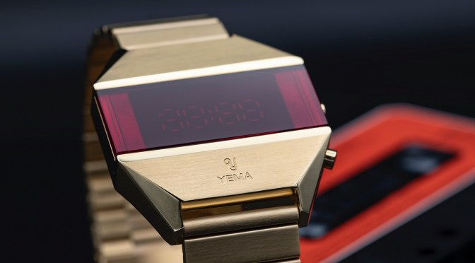 Yema Revive 1970s LED Digital Watches