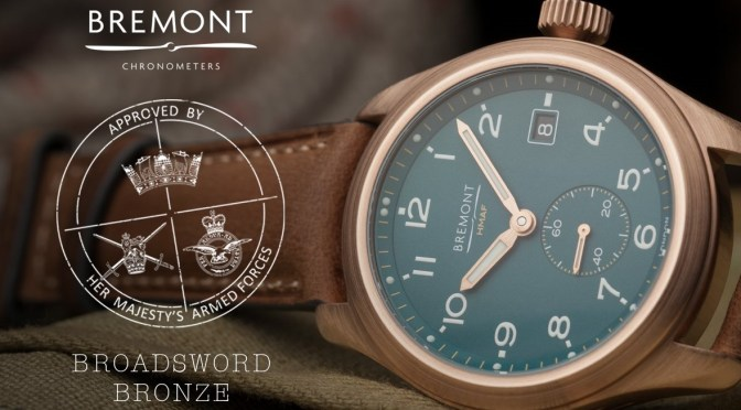 Bremont Broadsword Bronze Tips Hat to The Dirty Dozen