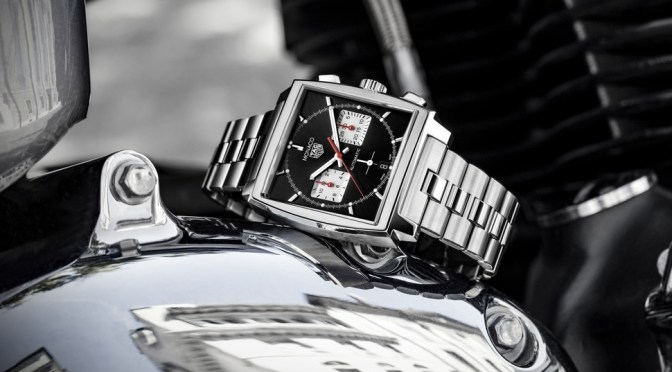 TAG Monaco Gets Steel Bracelet