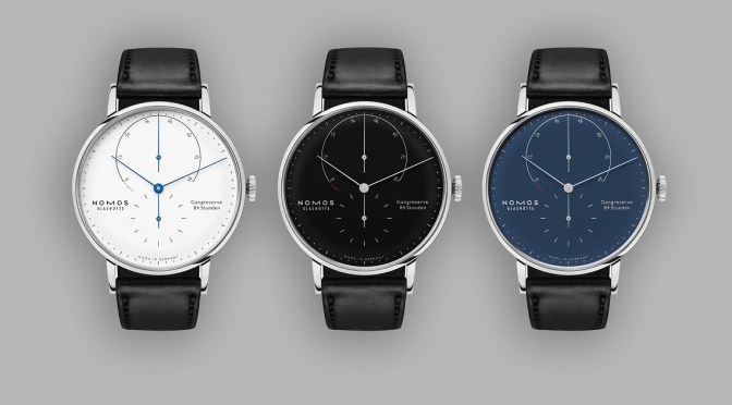 New Watches: NOMOS Glashutte Lambda Trio