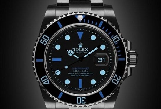 Titan Black Offers Bespoke Rolex Designs