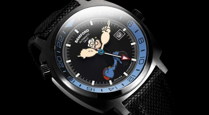 Collectables: Bamford Popeye GMT, Swiss Engineering, 100 Pieces