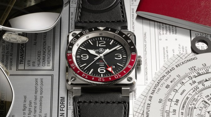 Bell+Ross Launch Three Time Zone GMT Model