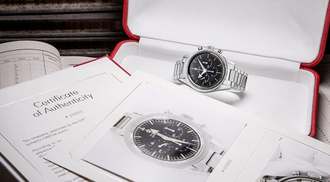 Omega Certificates Will Help Watch Collectors Everywhere
