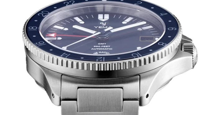 Yema Navygraf Marine Nationale GMT is On Pre-Order
