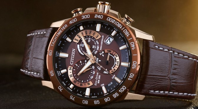 Cheers! The Citizen Root Beer Perpetual Chrono is The Boss
