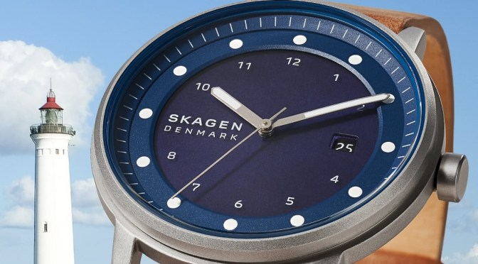 Skagen's Solar is an Eco-Friendly Choice