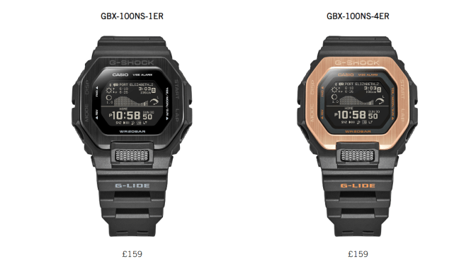 Casio G-Lide: Surf's Up & Vision is Highly Overrated