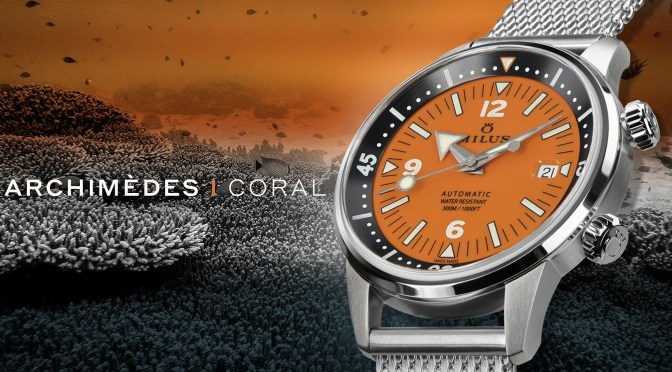 Milus Orange Coral Is a Watch That Makes a Difference