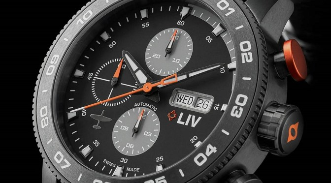 LIV P-51 Chrono: Valjoux Power Without The Swiss Price Tag
