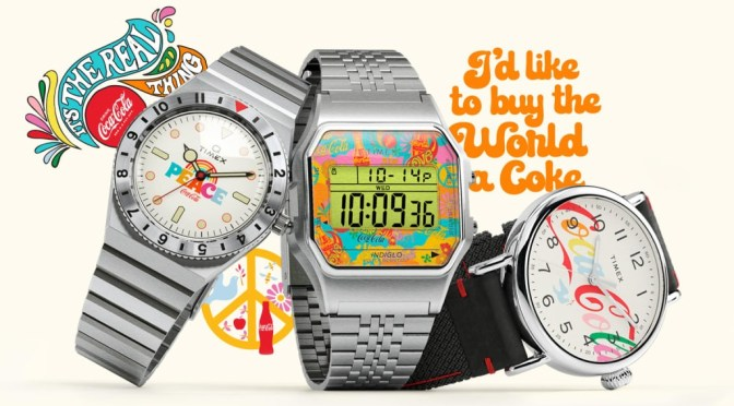 Coke Themed Timex Editions On The Way