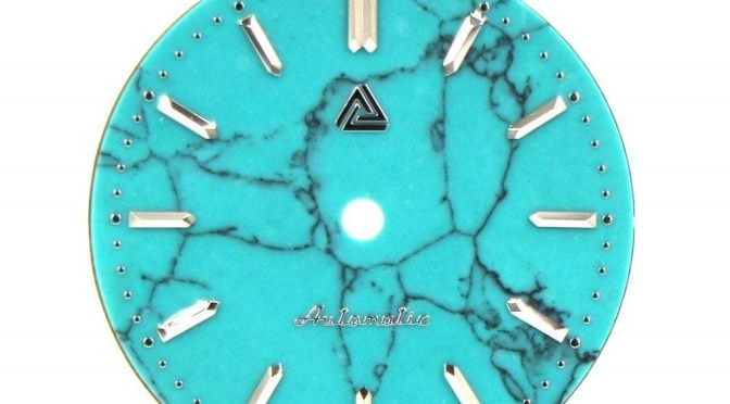 Hey Watch Modders: How Does A Turquoise Stone Dial Sound?