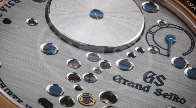 Grand Seiko Spring Drive, With Diamond Edged Case