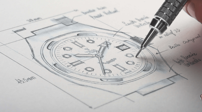 Yema Wristmaster – Teaser Drawings Released