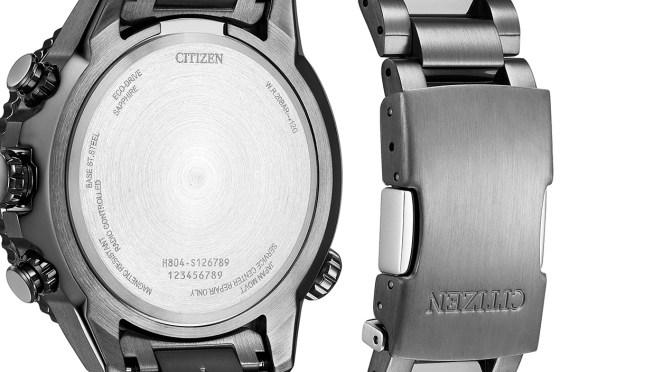 Citizen Navihawk Offers Atomic Timekeeping