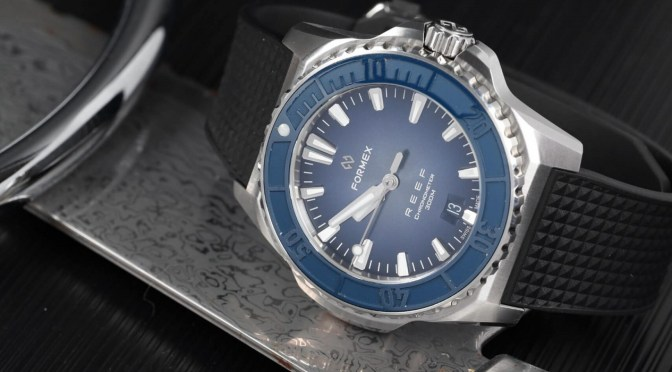 Formex Updates Reef Dive Model, New White Dial Option