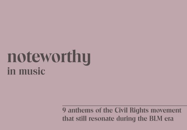 civil rights songs
