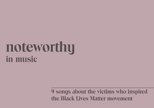 black lives matter songs