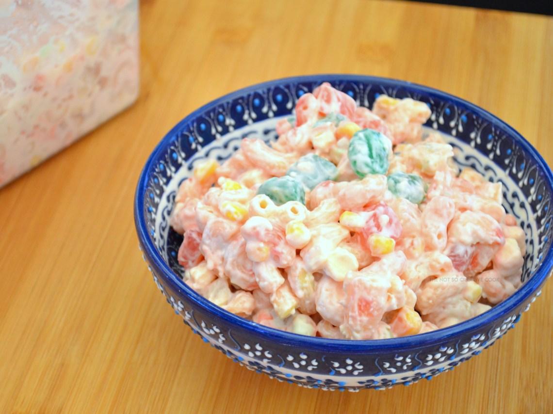 Filipino Macaroni Salad Recipe Video The Not So Creative