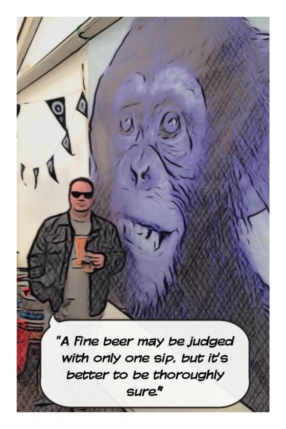 Blue Monkey say
