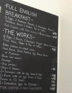 More Granby menu options