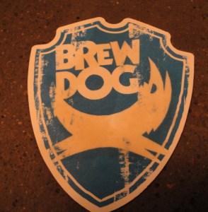 Brew Dog beer mat