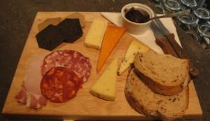 Cheese Board at Brew Dog