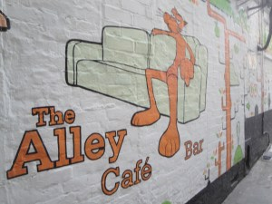 The Alley Cafe Mural