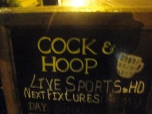 Cock & Hoop Board