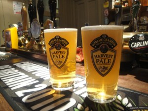 Harvest Pale at the Hop Pole