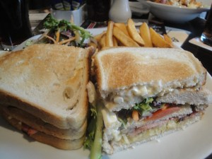 Club Sandwich at the Trent Navigation