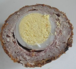 Duck and Black Forest Ham Scotch egg