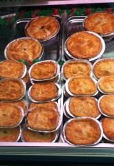Pies at C Brumptons
