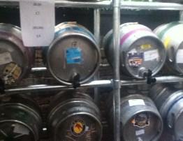 Beer Festival Barrels