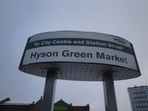 Hyson Green Market